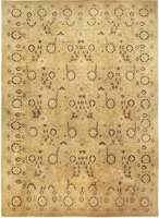 Oversized Antique Indian Agra Rug