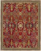 Antique Indian Agra Rug