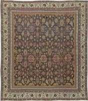 Antike indische Agra Teppich