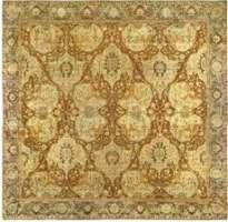 Großer Antiker Indischer Teppich
