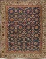 Übergroße Antike indische Amritsar Teppich