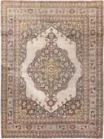 Antique Persian Oriental Tabriz Rug