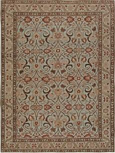 Antique Oriental Persian Tabriz Rug