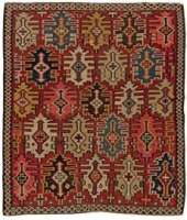 Antique Turco Kilim Tapete