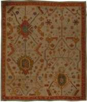 Antique Turco Oushak Rug