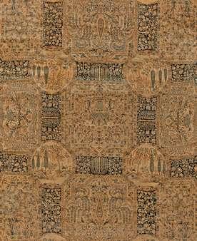 Tapete persa antigo oriental de Tabriz