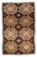 Antique Russian Bessarabian Carpet
