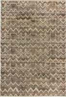 Contemporary High-Low Pile Rug