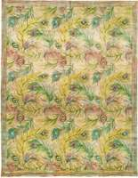 纳内特Lapore孔雀地毯