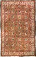 Antique English Axminster Rug