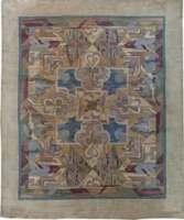復古的裝飾藝術地毯弗蘭克·布朗溫