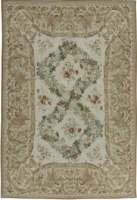 European Inspired Bassarabian Florat Pattern Flat Weave Rug