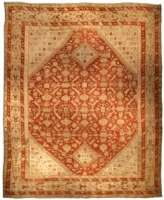 Oversized Antique Turkish Ghiordes Carpet