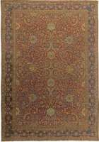 Turkish Hereke Antique Rug