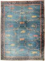 Oversized Antique Indian Rug