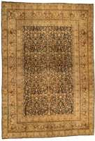 Antique Persian Kashan Teppich