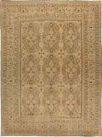 Grande Antique Persian Khorassan Rug