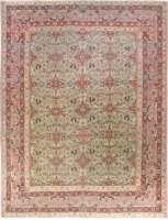 Antique Persian Kirman Teppich