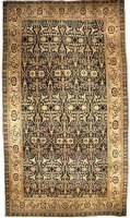 Oversized Antique Persian Senneh