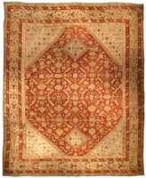 Oversized Antique Turkish Ghiordes Carpet