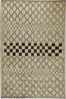 Modern Custom Moroccan Rug