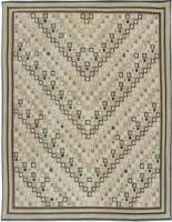 Custom Swedish Design Flat Weave Rug