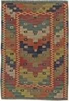 Vintage-schwedische Teppich von Marta Maas Fjetterstrom