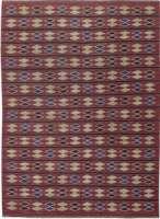 Swedish Flat Weave Rug by Irma Kronlund