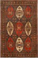 Antique Persian Senneh Carpet