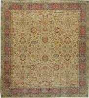 Antique Turkish Sivas Carpet