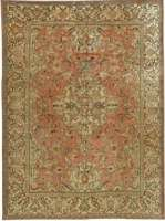 Antique Persian Tapis Tabriz