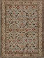 Antique Persian Carpet Tabriz