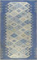 Swedish Flat Weave Rug designed by Sofia Widen