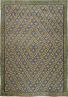 Oversized Vintage Indian Dhurrie Rug