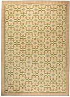 Oversized Indian Dhurrie Vintage Rug