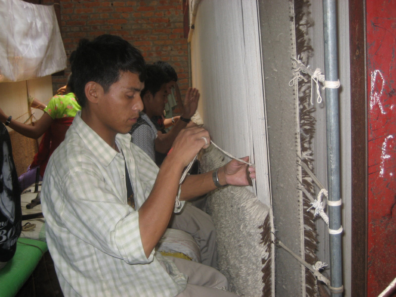 Rugs Are Finished In Nepal