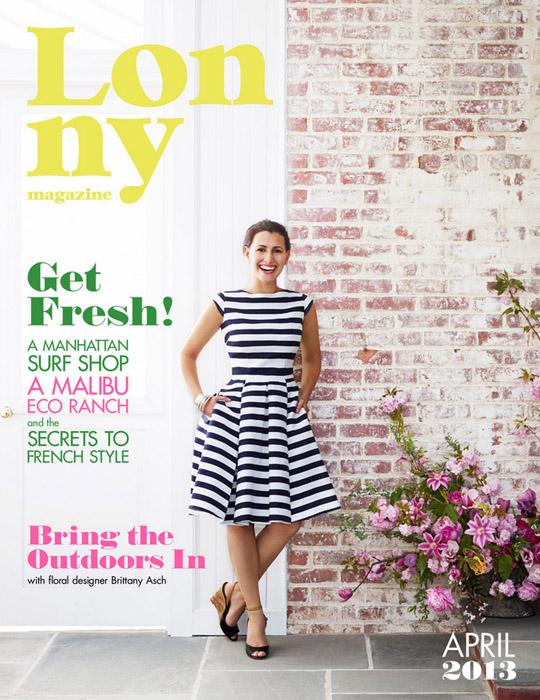 Lonny Magazine, April 2013
