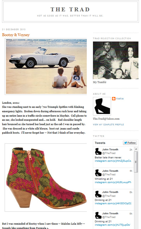 The Trad Blog, December 2013