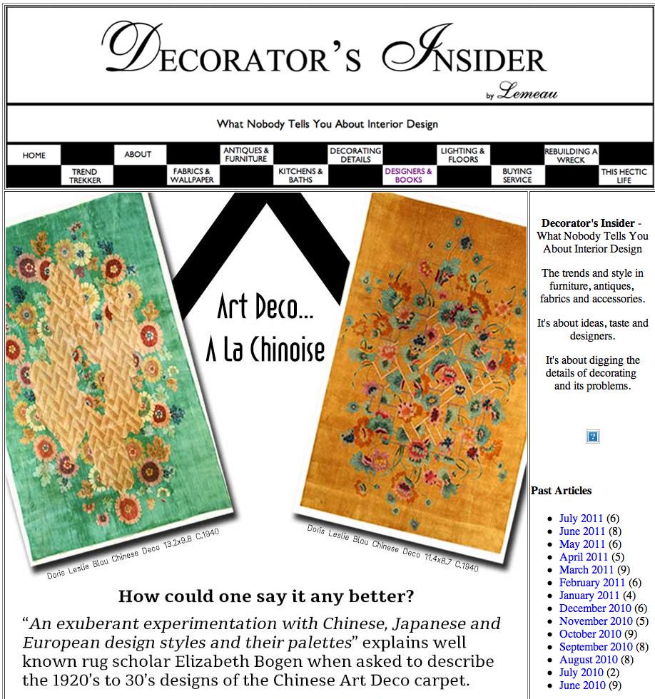 Decorator Insider