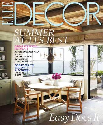 Elle Decor, July-August, 2013