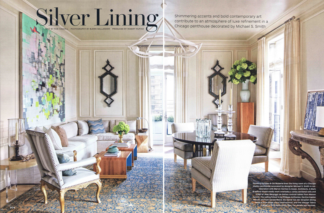 Architectural Digest, January 2014