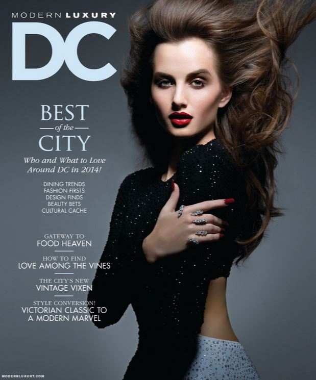 DC revista Modern Luxury, enero 2014