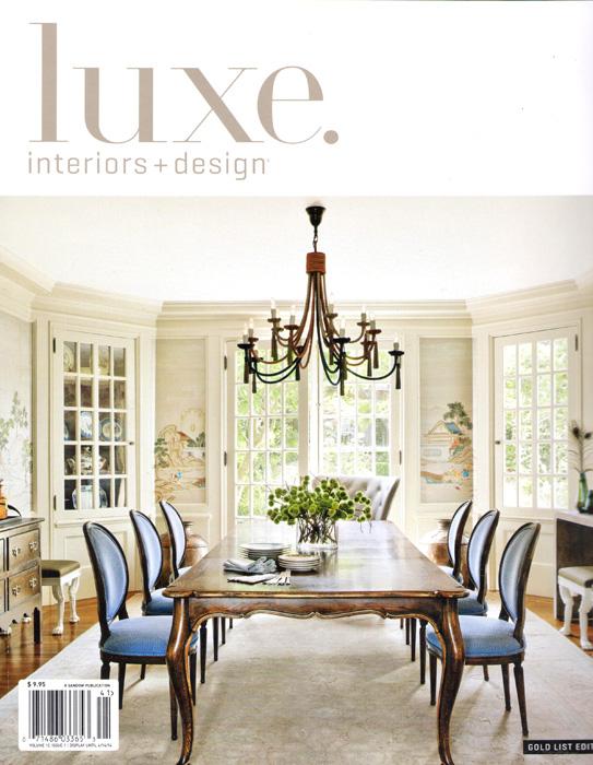 Luxe Magazine, January 2014