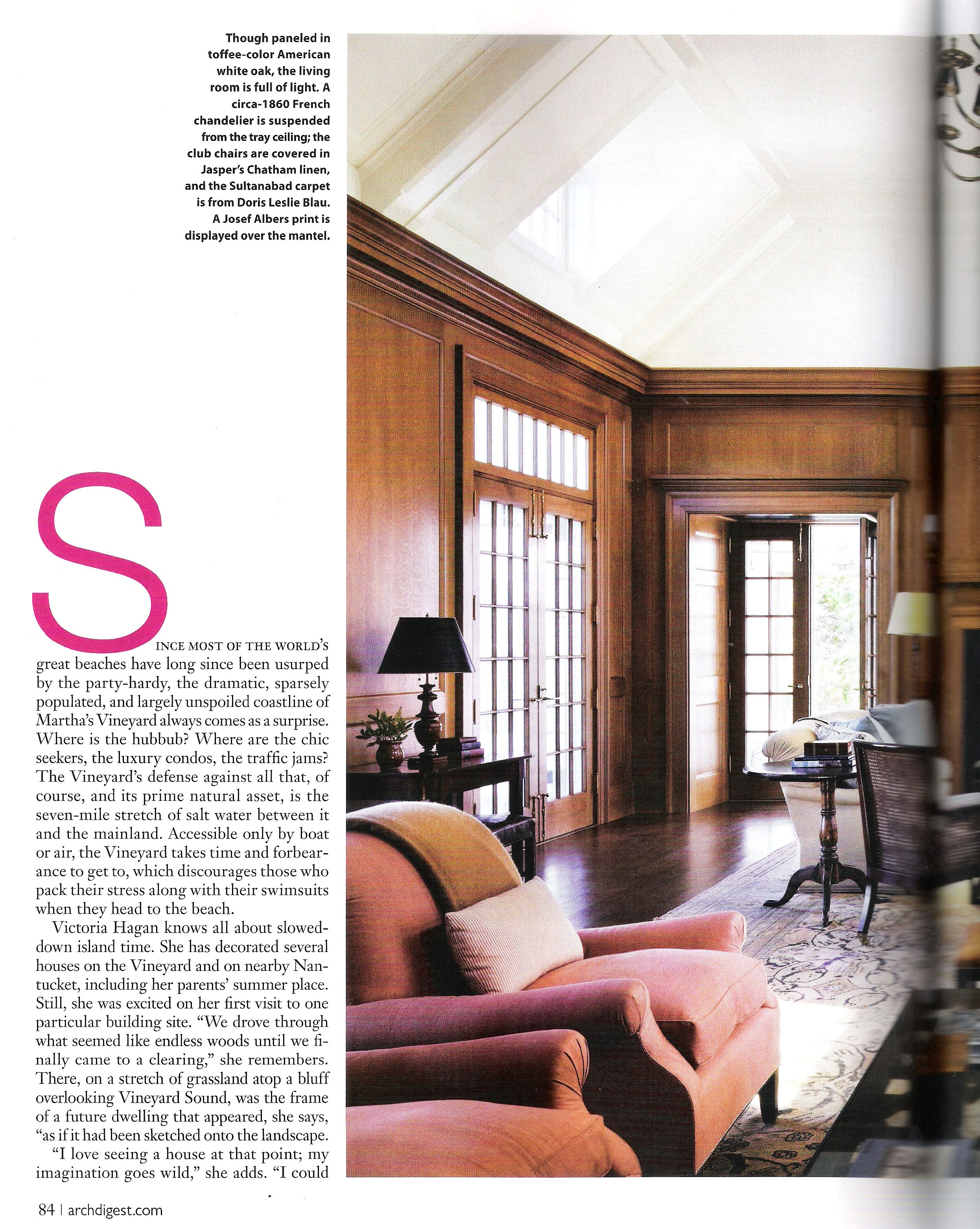 Architectural Digest, February 2011