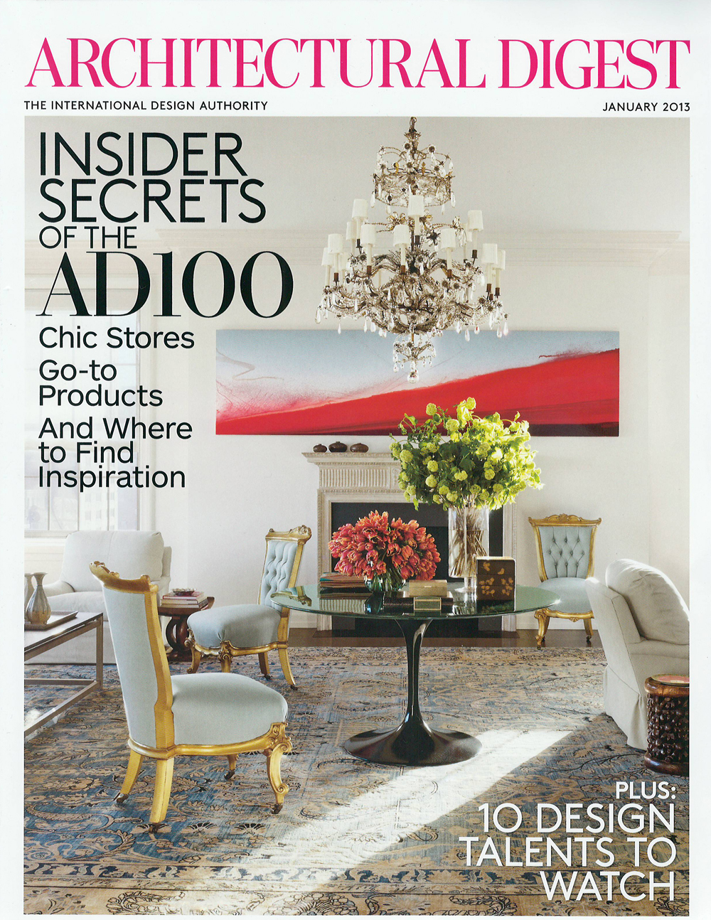 Architectural Digest, enero 2013