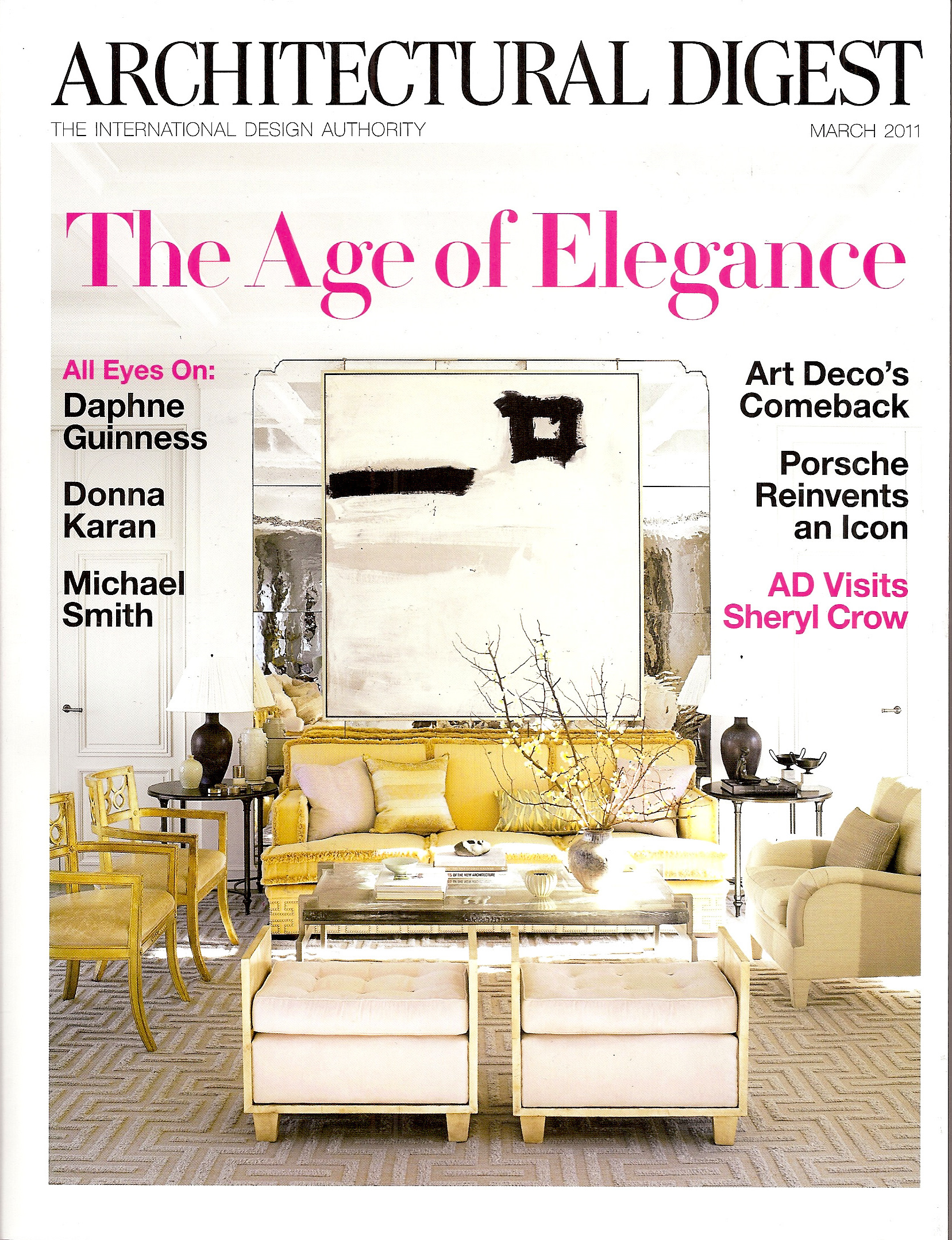 Architectural Digest, marzo 2011