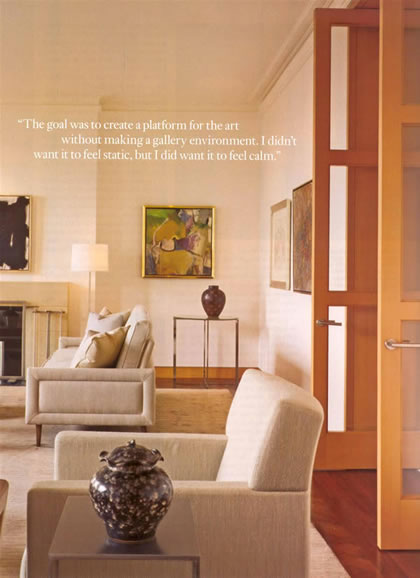 Architectural Digest, April 2006, p. 4