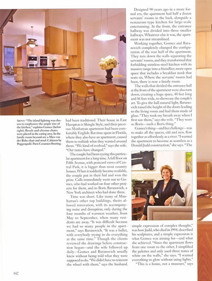 Architectural Digest, April 2006, p. 5
