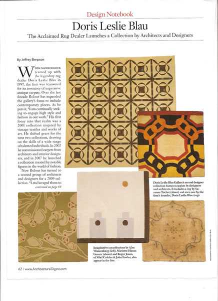 Architectural Digest, February 2009, p. 2