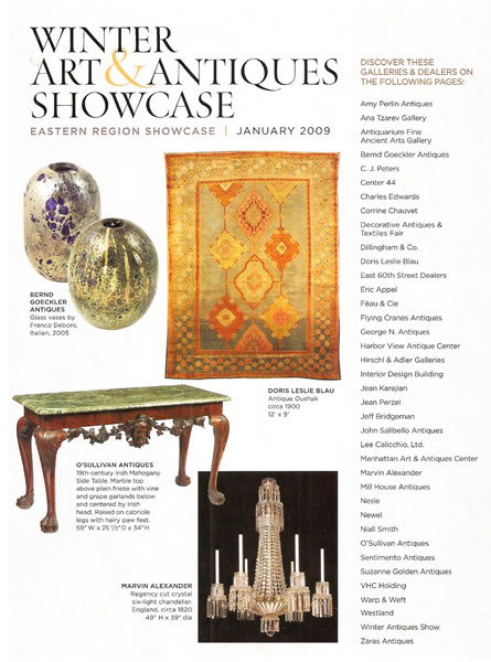 Architectural Digest, January 2009, p. 2